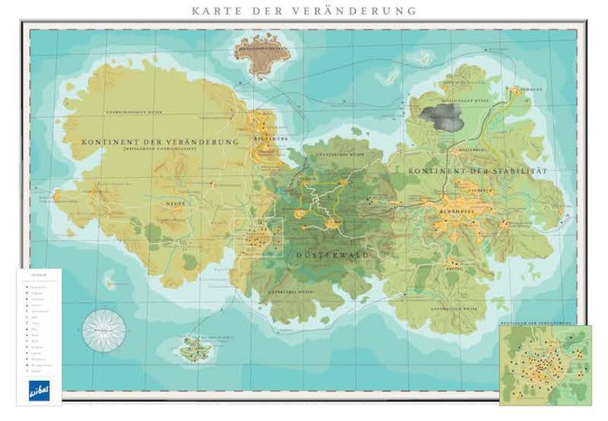 Karte der Veränderung - Coverbild