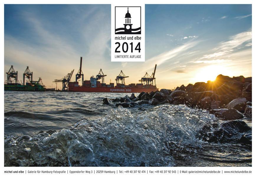 michel und elbe Kalender 2014 - Farbe - Coverbild