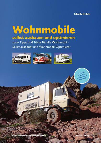 Wohnmobile selbst ausbauen und optimieren - Coverbild