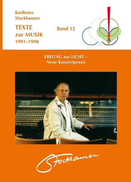 TEXTE zur MUSIK 1991-1998 Band 12 - Coverbild