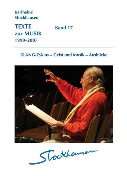 TEXTE zur MUSIK 1998-2007 Band 17 - Coverbild