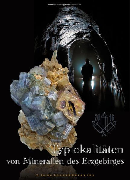 Typlokalitäten von Mineralien des Erzgebirges - Coverbild