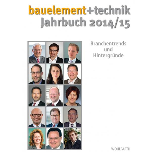 bauelement + technik Jahrbuch 2014/15 - Coverbild