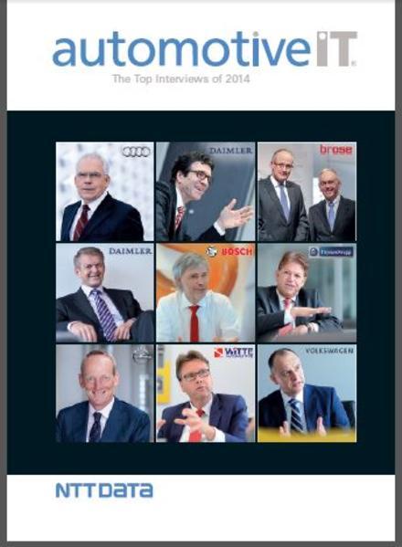automotiveIT - The Top Interviews of 2014 - Coverbild
