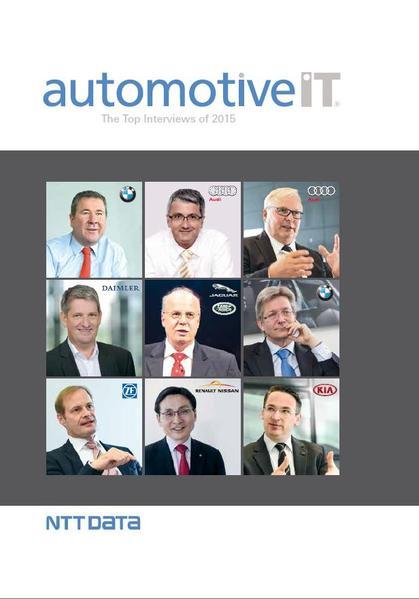automotiveIT The Top-Interviews of 2015 - Coverbild