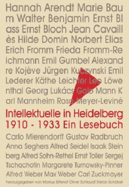 Intellektuelle in Heidelberg 1910 - 1933 - Coverbild