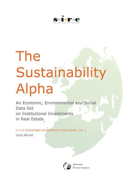 The Sustainability Alpha - Coverbild
