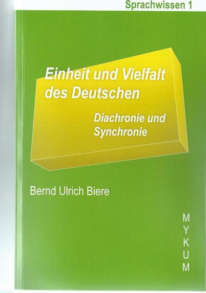 Einheit und Vielfalt des Deutschen - Coverbild