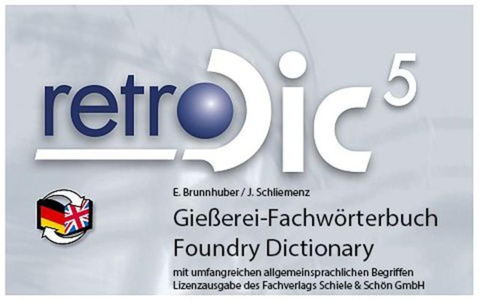 Gießereifachwörterbuch - Foundry dictionary - Coverbild
