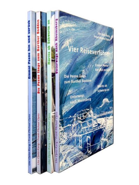 Vier Reiseverführer - Coverbild