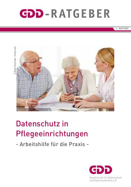 Datenschutz in Pflegeeinrichtungen - Coverbild