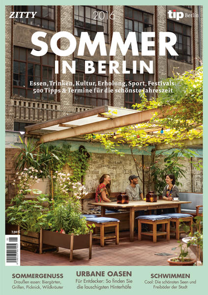 Sommer in Berlin 2016 - Coverbild