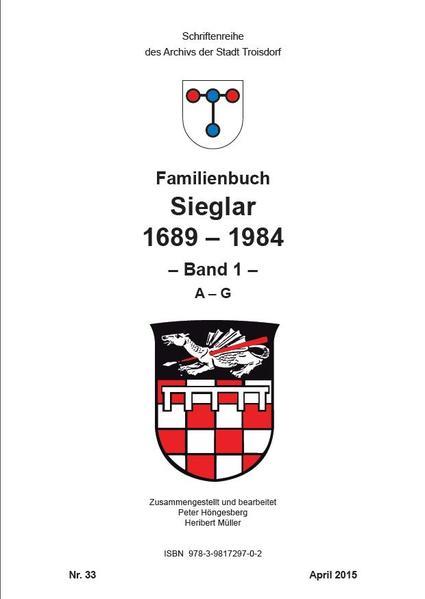 Familienbuch Sieglar 1689-1984 - Coverbild