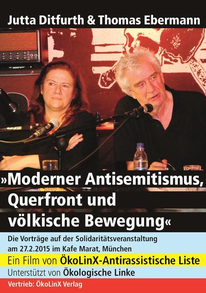Moderner Antisemitismus, Querfront und völkische Bewegung - Coverbild
