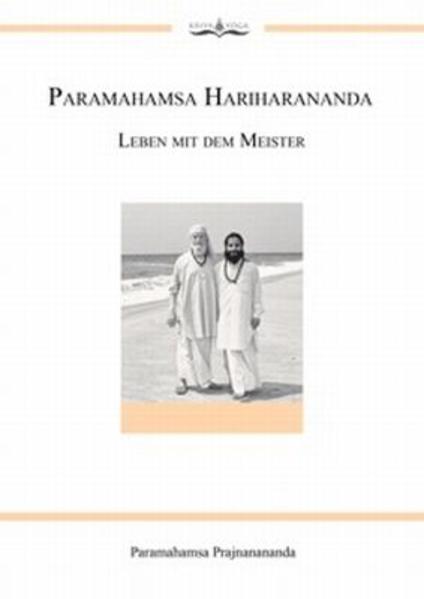 Paramahamsa Hariharananda Leben mit dem Meister - Coverbild