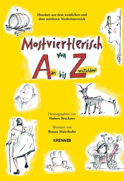 Mostviertlerisch von Aan bis Zwutschkerl - Coverbild