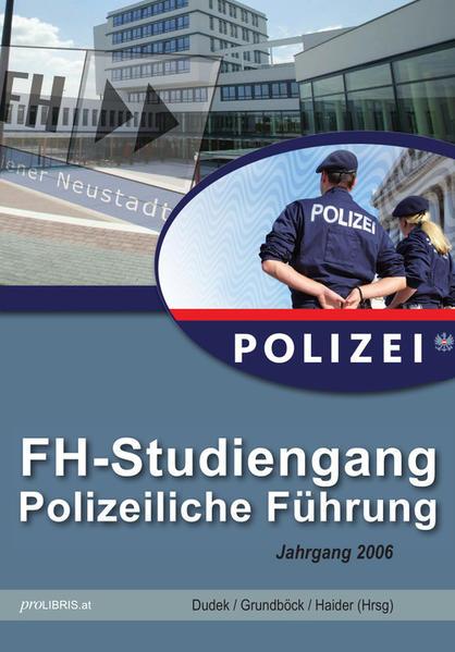 FH-Studiengang Polizeiliche Führung Jahrgang 2006 - Coverbild