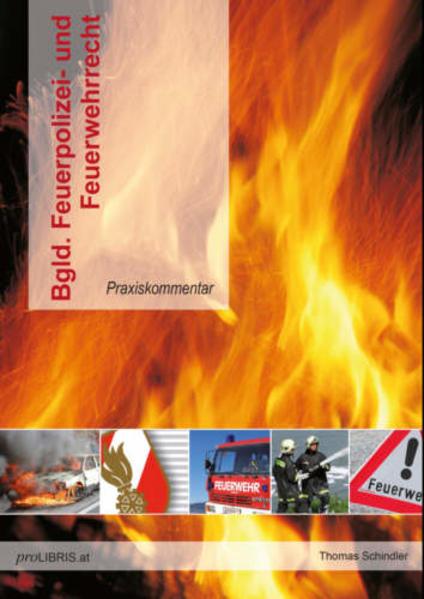 Bgld. Feuerpolizei- und Feuerwehrrecht - Coverbild