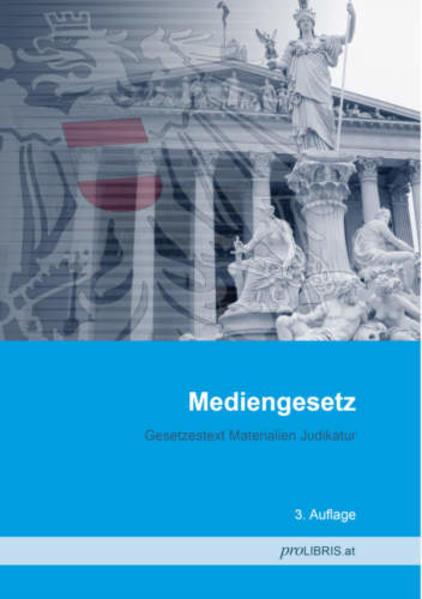 Mediengesetz - Coverbild