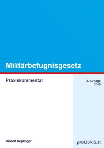 Militärbefugnisgesetz - Coverbild