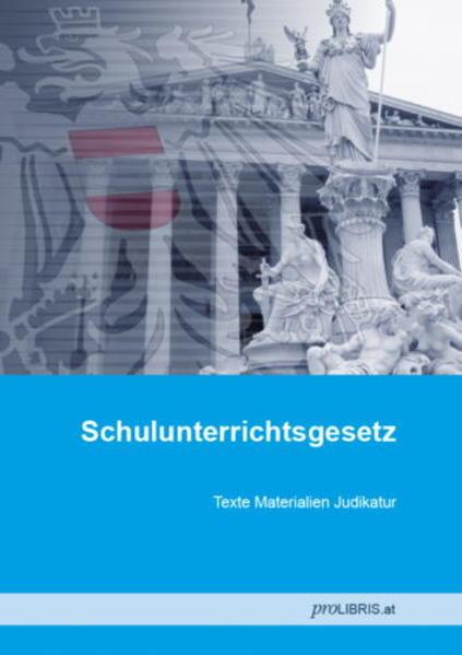Schulunterrichtsgesetz - Coverbild