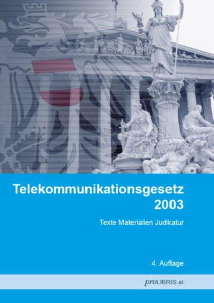 Telekommunikationsgesetz 2003 - Coverbild