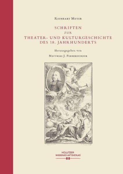 Schriften zur Theater- und Kulturgeschichte des 18. Jahrhunderts - Coverbild