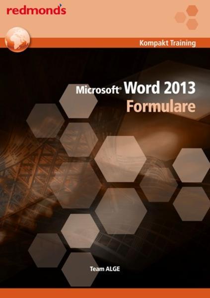 Word 2013 Formulare - Coverbild