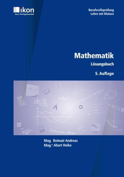 BRP Mathematik Lösungsbuch - Coverbild