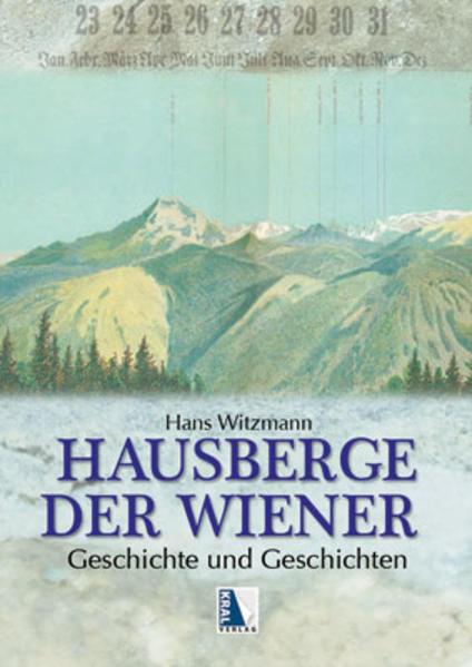 Hausberge der Wiener mit Panorama - Coverbild