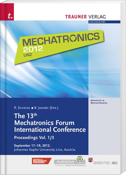 The 13th Mechatronics Forum International Conference - Coverbild
