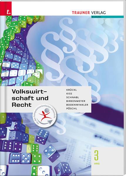 Für HAS-Schulversuchsschulen: Volkswirtschaft und Recht 3 HAS - Coverbild