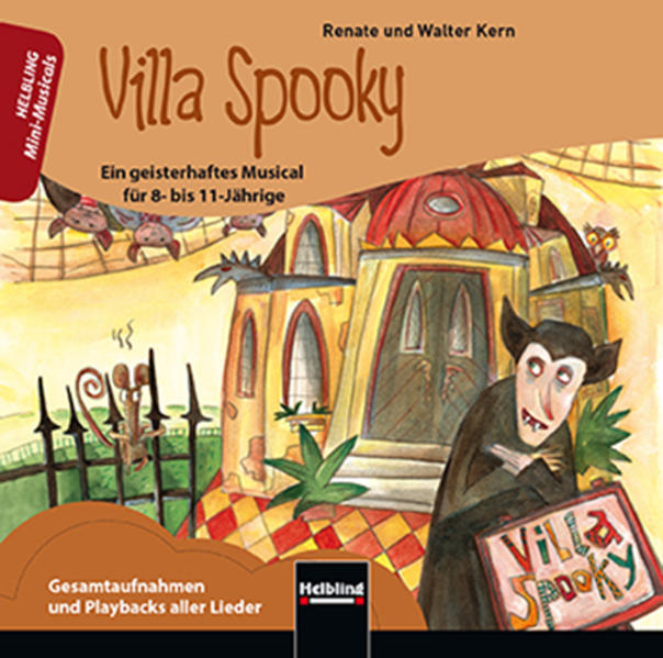 Villa Spooky. Audio-CD - Coverbild