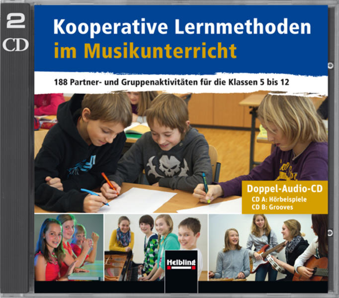 Kooperative Lernmethoden im Musikunterricht - Doppel-CD - Coverbild
