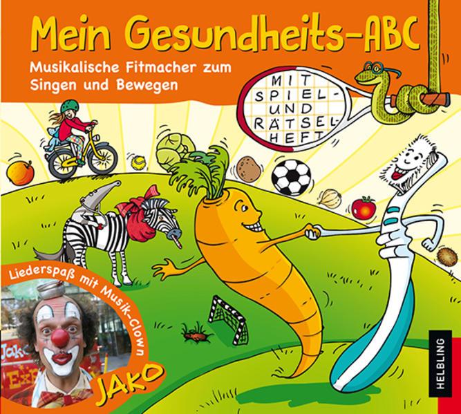 Mein Gesundheits-ABC. AudioCD - Coverbild