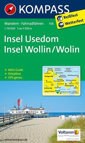 Insel Usedom - Insel Wollin/Wolin - Coverbild