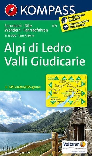 Alpi di Ledro - Valli Giudicarie - Coverbild