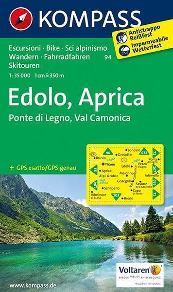 Edolo - Aprica - Ponte di Legno - Val Camonica - Coverbild