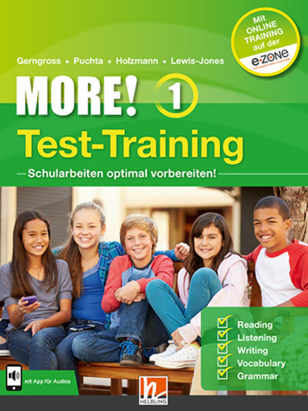 MORE! 1 NEU Test training  - Coverbild
