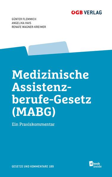 Medizinisches Assistenzberufe-Gesetz (MABG) - Coverbild