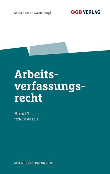 Arbeitsverfassungsrecht Bd 1 - Coverbild