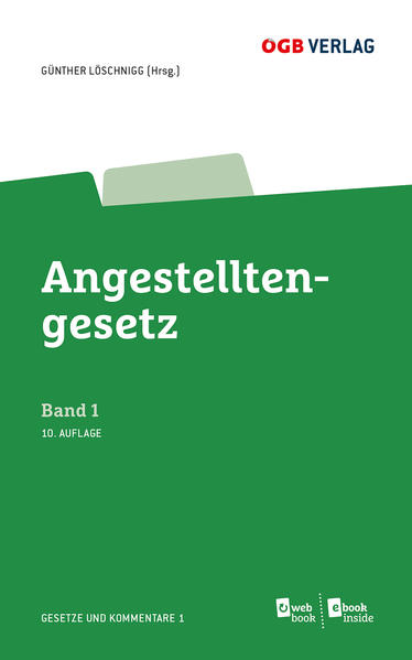 Angestelltengesetz - Coverbild