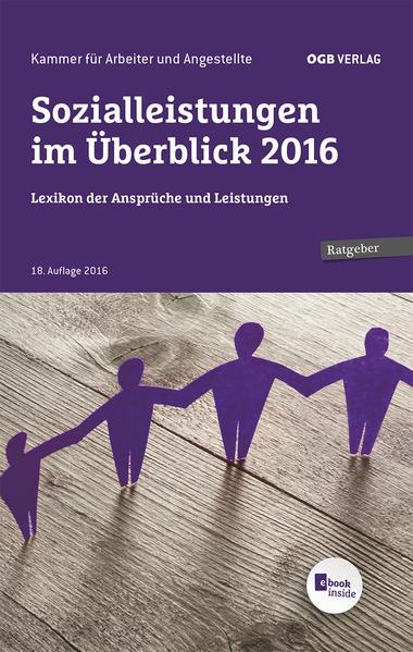 Sozialleistungen im Überblick 2016 - Coverbild