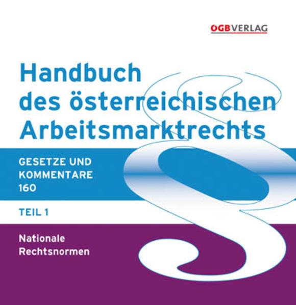 Handbuch des österreichischen Arbeitsmarktrechts - Coverbild
