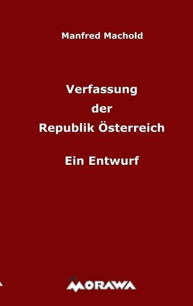 Verfassung der Republik Österreich - Coverbild