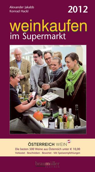 Weinkaufen im Supermarkt 2012 - Coverbild