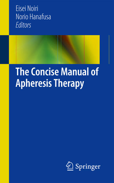 The Concise Manual of Apheresis Therapy - Coverbild