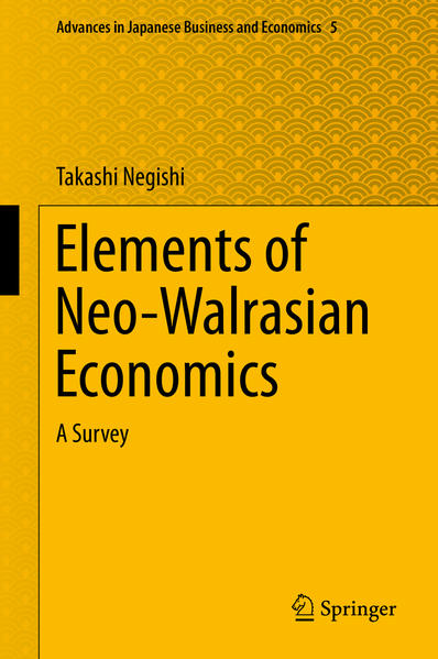 Elements of Neo-Walrasian Economics - Coverbild