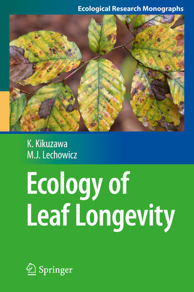 Ecology of Leaf Longevity - Coverbild