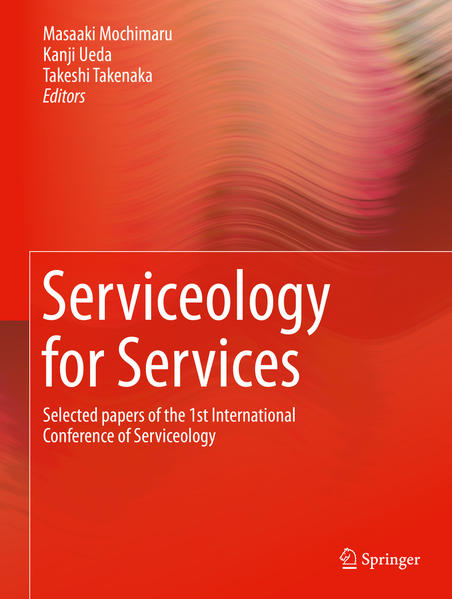 Serviceology for Services - Coverbild